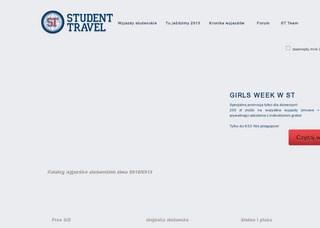 Strona student.travel.pl