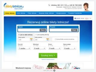 Strona biletylotnicze.pl